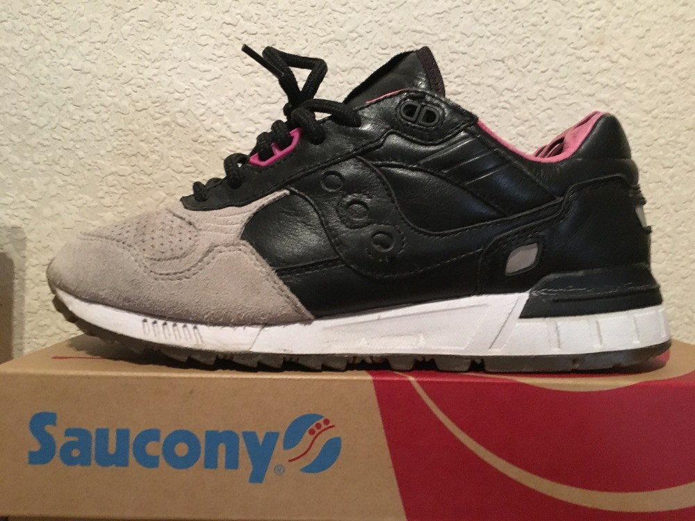 quality design a9df7 28bc8 solebox x saucony shadow 5000 grey devil