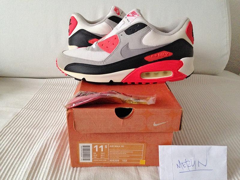 "Nike Air Max 90 ""Infrared"" (2003) - photo 1/9"