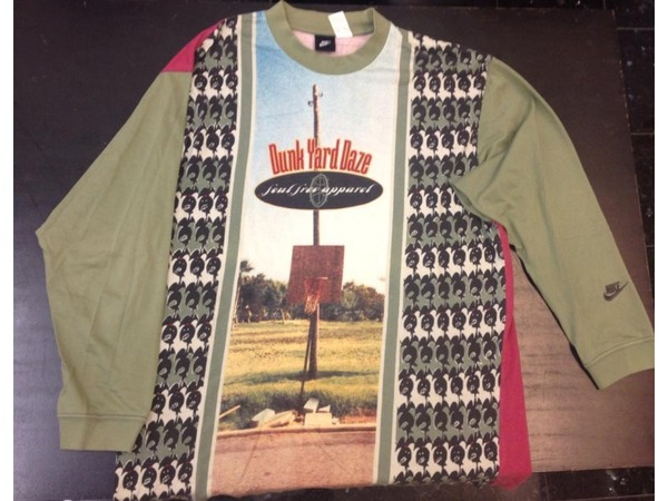 Nike DUNK YARD DAZE from 1994 long sleeve tee t shirt - photo 1/3