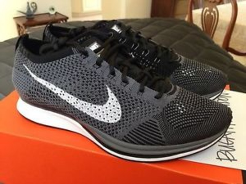 b29d29ee2cf7 Nike Flyknit Racer Dark Grey endeavouryachtservices.co.uk