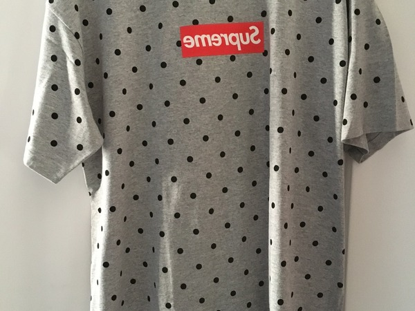 Supreme X <strong>Comme</strong> <strong>des</strong> <strong>Garcons</strong> CDG Shirt XL New DS Authentic - photo 1/5