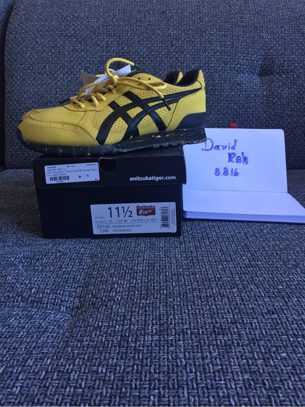 Bruce Lee Sneakers Onitsuka Tiger Asics 100% Authentic eBay
