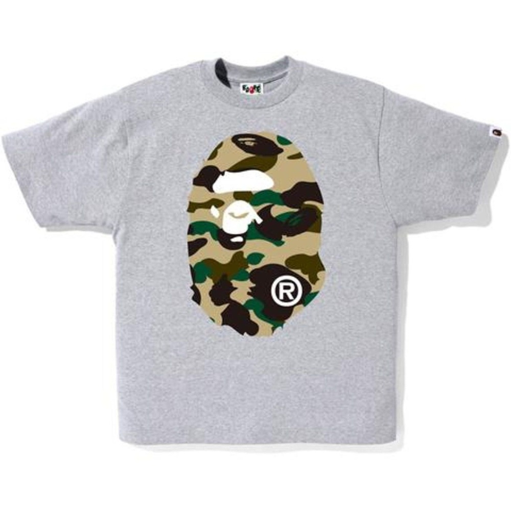bape a bathing ape 1st big logo tee shirt new size l