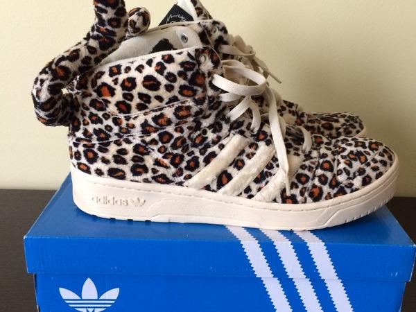 Adidas Jeremy Scott leopard 11,5US - photo 1/6