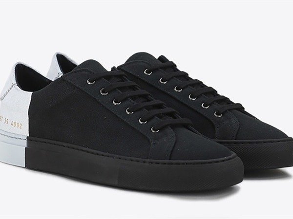 6397 x Common Projects / Sneakers Tournament Black - White - photo 1/8