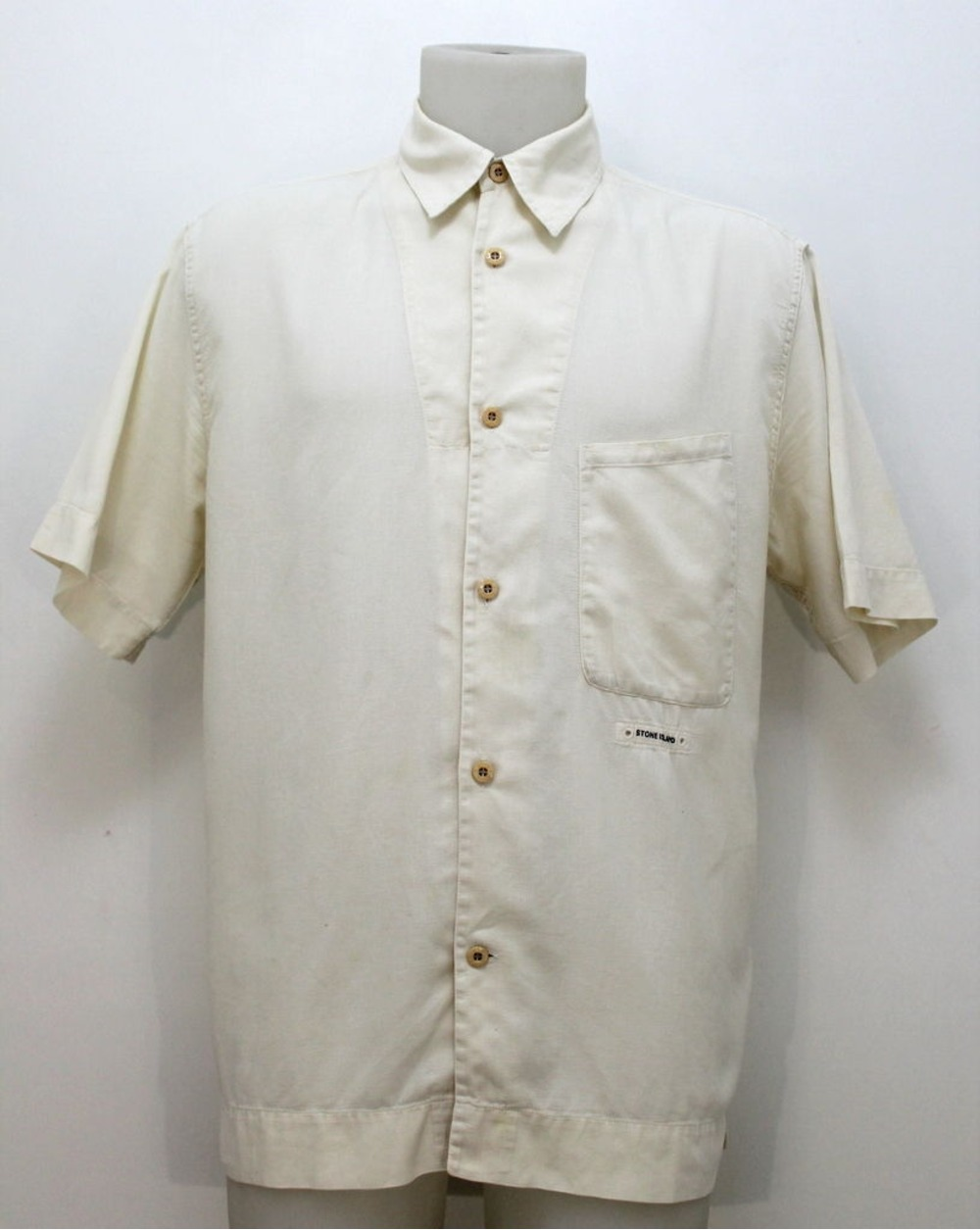 Rare stone island vintage polo shirt art 32151016 a made for Shirts made in italy