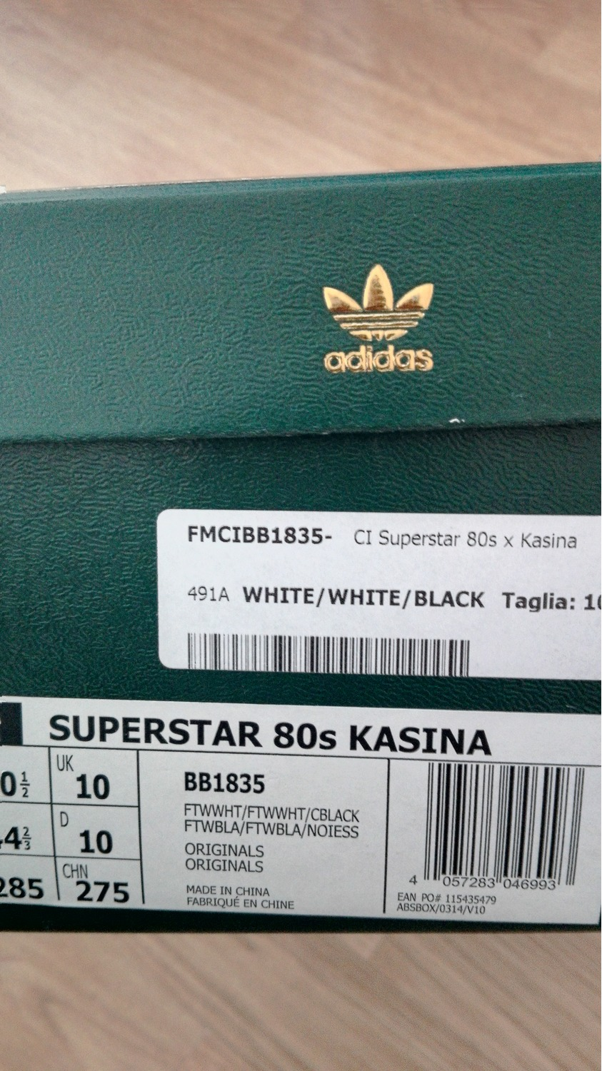 Kasina ADIDAS SUPERSTAR 80s Shoes Release Date Osloveien Bil