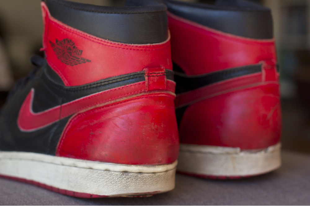 sale retailer 1f6db 0e20e 1994 Nike Air Jordan 1 Bred US 11.5   EUR 45.5 - photo 3 6 ...