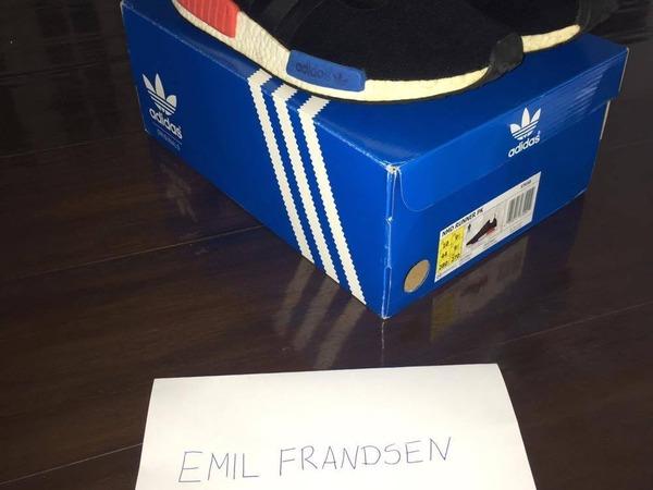 Adidas nmd PK Runner OG Black size 10 - photo 1/5