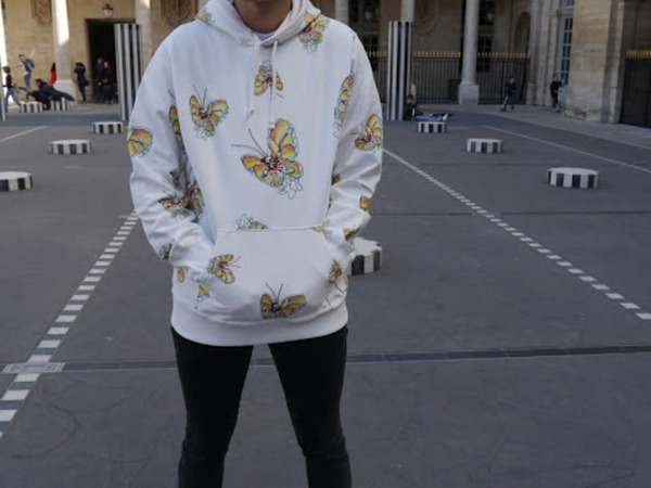 Supreme Hoodie Gonz Butterfly - photo 1/5
