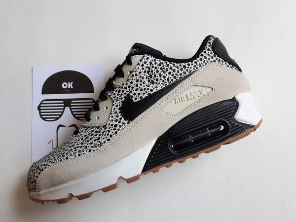 Nike WMNS Air Max 90 Premium Safari White - photo 1/6
