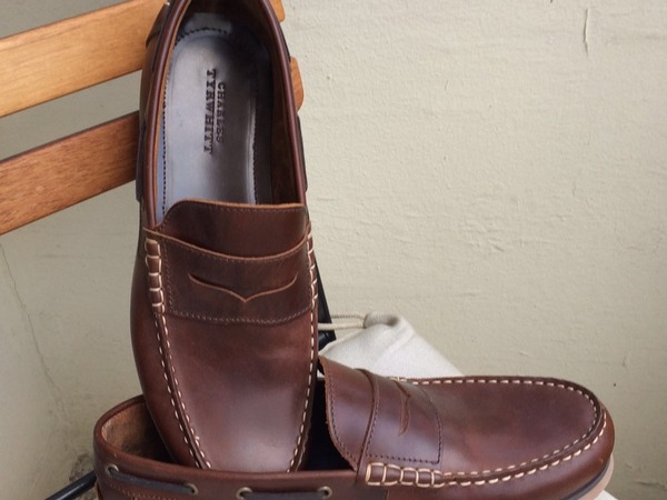 Brand New Brown Leather Loafers by Charles Tyrwhitt (London) - photo 1/2