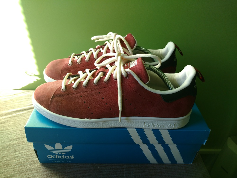 adidas stan smith rust red