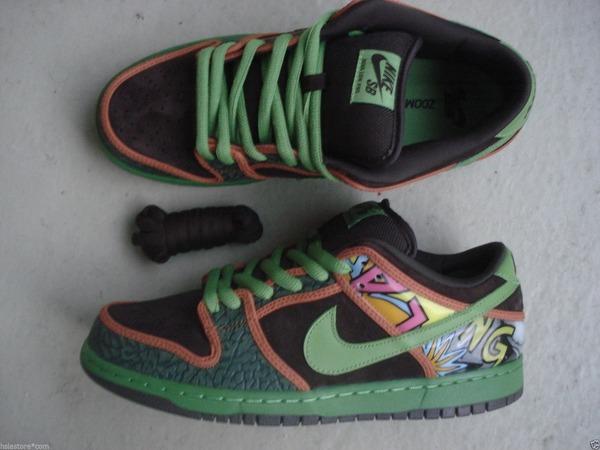 "Nike Air Dunk Low Sb Premium ""De La Soul"" - photo 1/1"