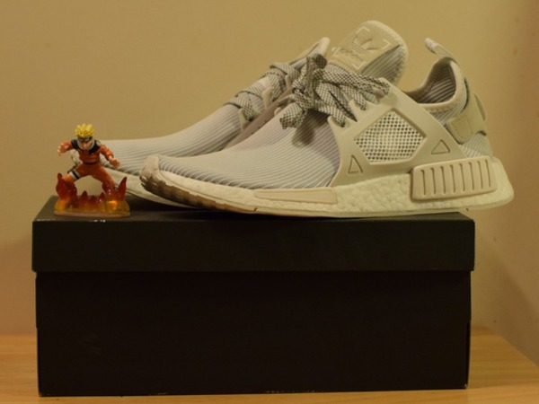 Adidas NMD XR1 PK All White full size - photo 1/2