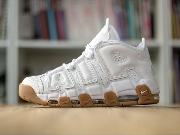 Nike uptempo White gum Size 43 - photo 1/3
