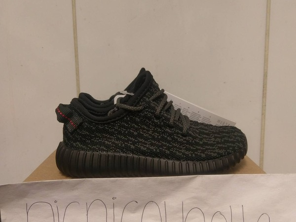 Adidas Yeezy boost 350 Infant Pirate Black - photo 1/4