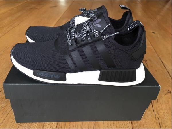 Adidas NMD R1 Core Black DS 42 & 42 2/3 - photo 1/8