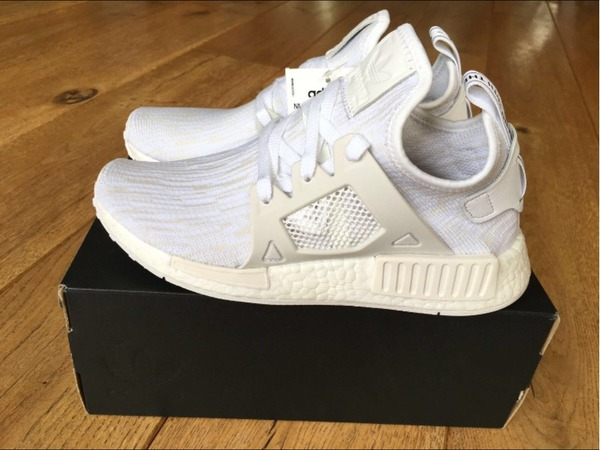 Adidas NMD XR1 White Vintage - Size 38, 39 1/3, 41 1/3 & 42 - photo 1/9