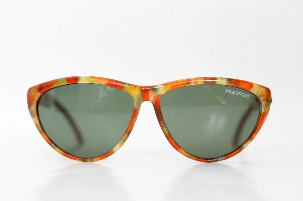 nos fila sport tortoise sunglasses unisex shades deadstock