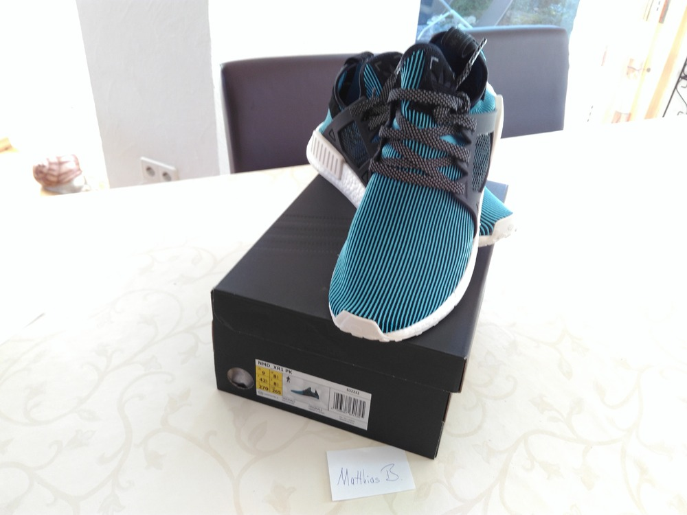 676675522962a ADIDAS NMD XR1 Boost Primeknit walk on waterbed