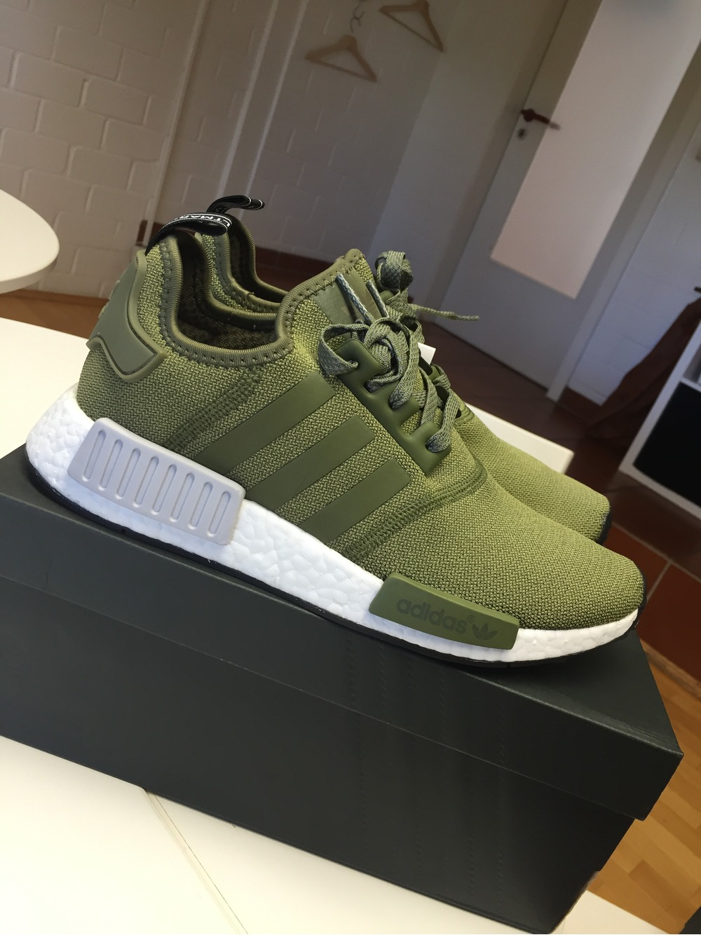 sports shoes 489b3 1bc6c Adidas Nmd Olive Green kenmore-cleaning.co.uk