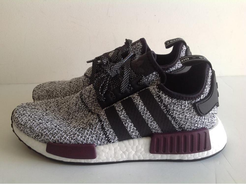 online store a0b5f 5bb69 Adidas Nmd Black Maroon kenmore-cleaning.co.uk