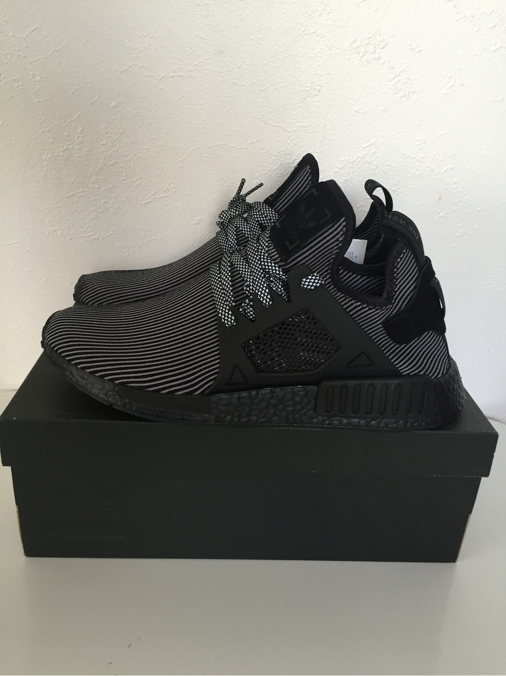 Adidas Nmd Xr1 Pk Triple Black