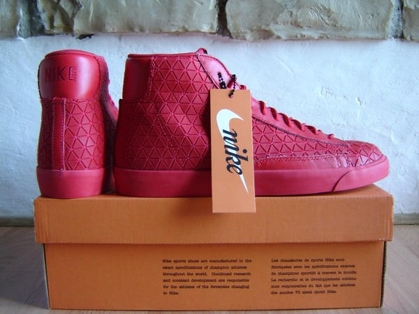 sports shoes b3241 1a9f9 ... nike blazer mid metric qs university rouge ...