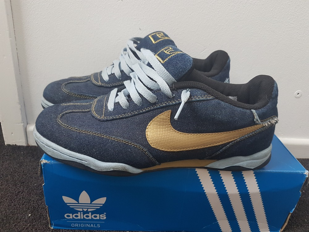 the best attitude c7afa 67666 NIKE AIR ZOOM FC DENIM NAVY SZ 11.5 DEADSTOCK DS RARE 308173-472 supreme