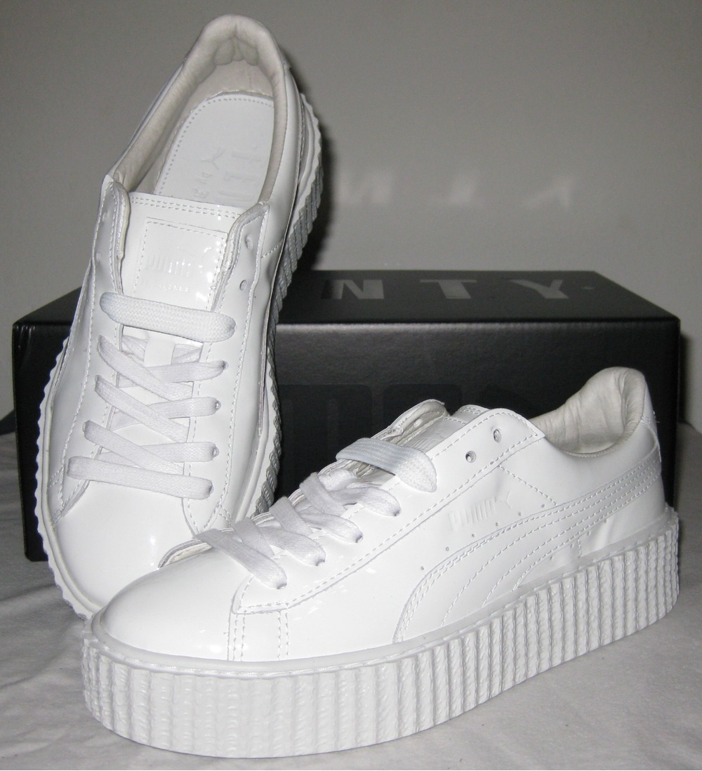 size 40 c5ea4 315ea Puma Rihanna Creepers White wearpointwindfarm.co.uk