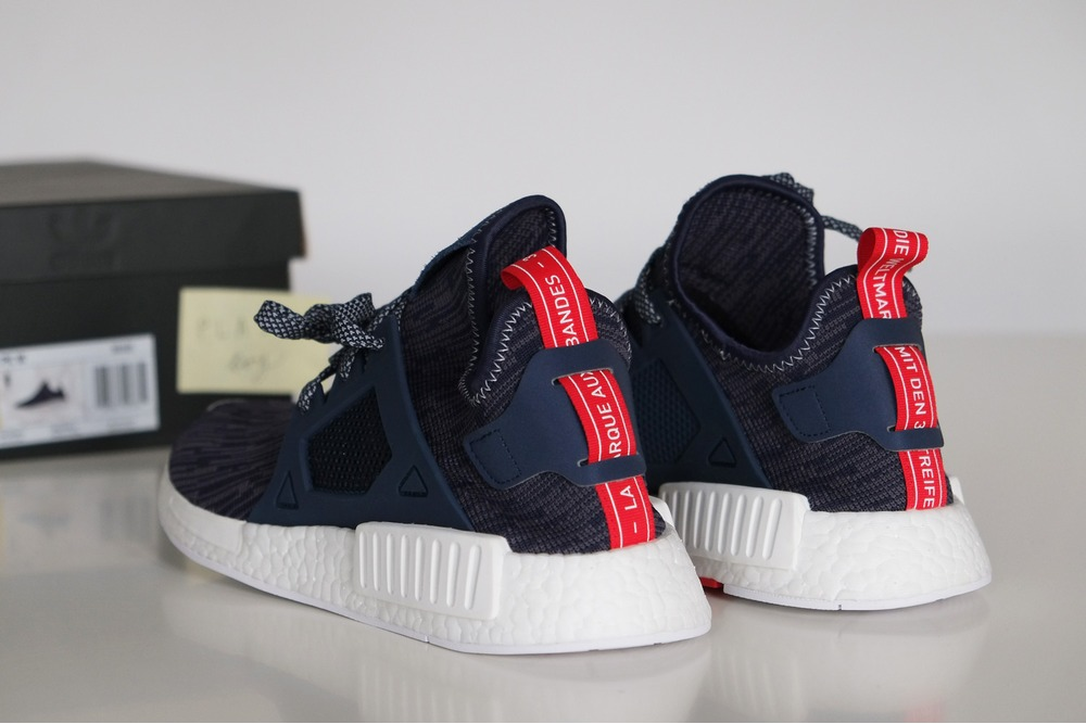 Collegiate Navy Drapes The Latest adidas NMD XR1 Primeknit