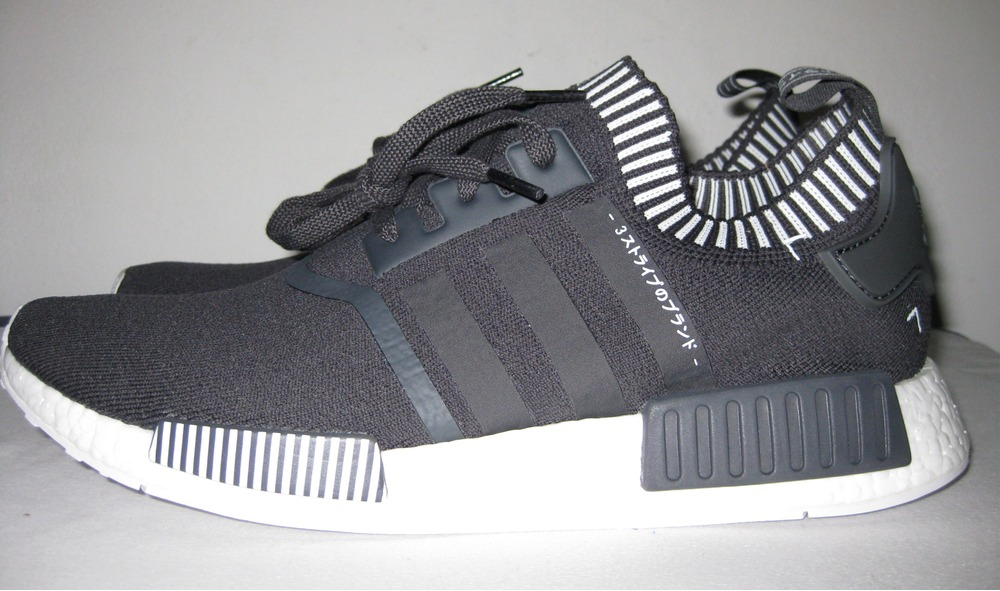 Adidas NMD R1 Dark Grey Solar Red S31510 3M Reflective