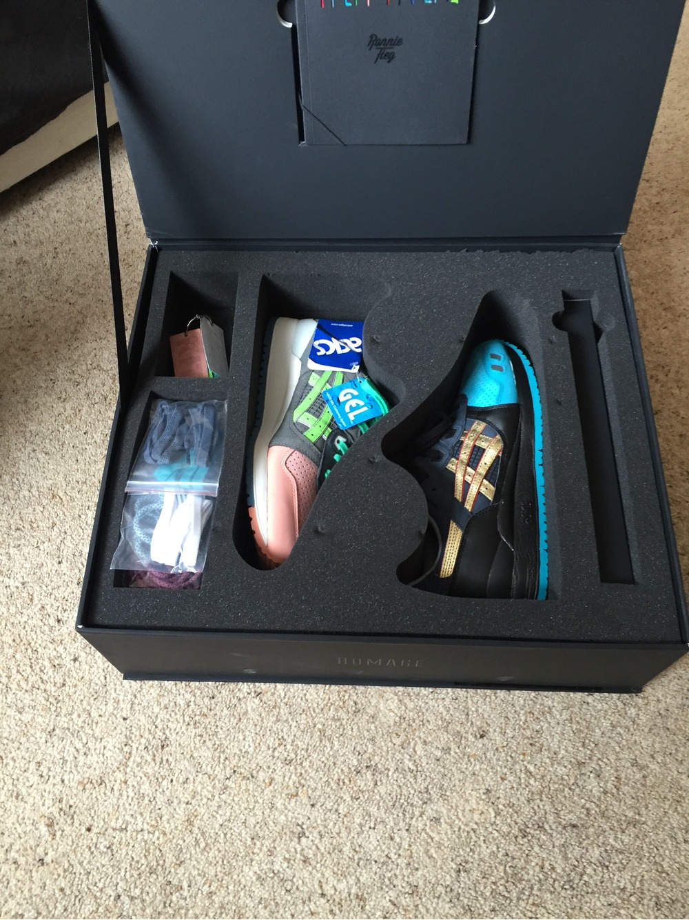 Asics Ronnie Fieg 'Homage' Special Box - DS - photo 1/3