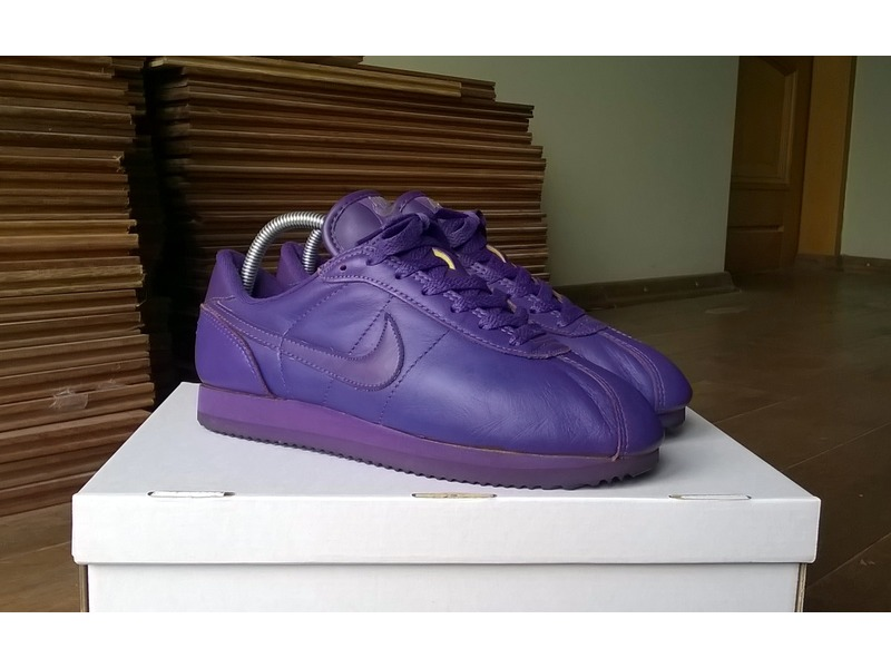 All Purple Nike Cortez