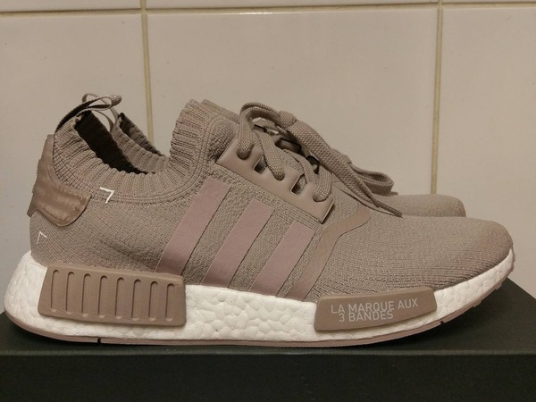 Adidas NMD_R1 PK Vapour Grey French Beige uk 5 6 6.5 7 7.5 9 10 11 - photo 1/3