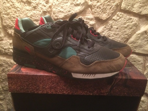 "Saucony Shadow 6000 West NYC ""Cabin Fever"" - photo 1/3"