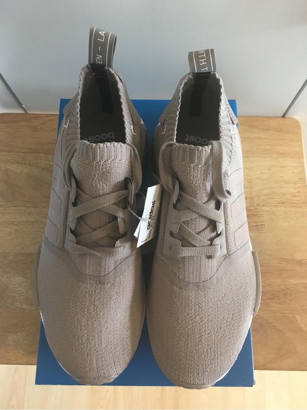 adidas nmd r1 primeknit beige