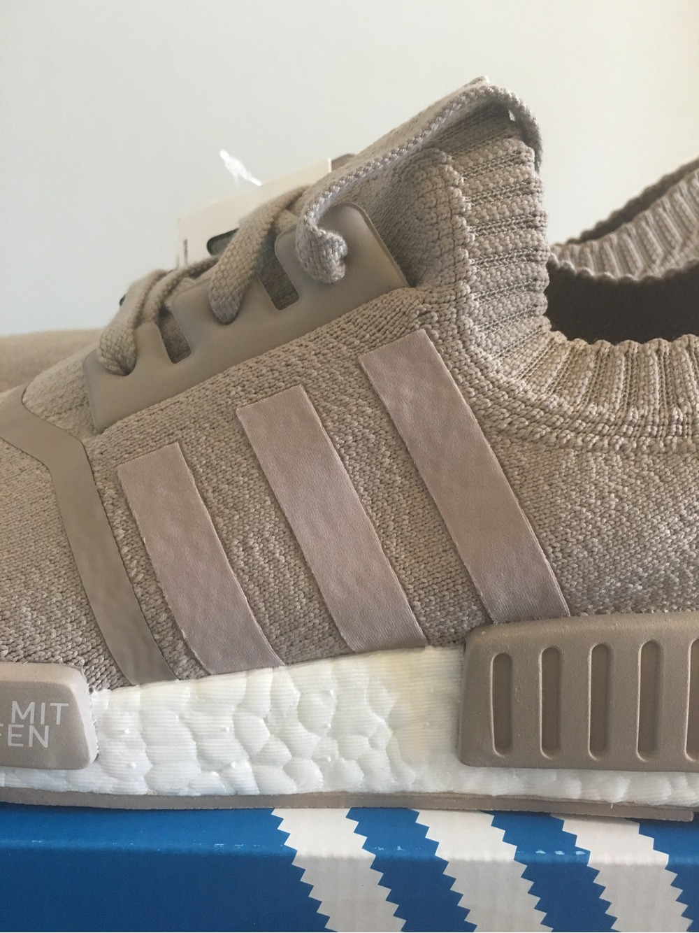 online store 4c3e2 9ad06 Adidas Nmd R1 Primeknit French Beige los-granados-apartment ...