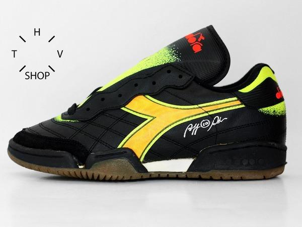 Diadora Assist II ID Roberto Baggio 90s vintage NOS DS deadstock 26565 307 kicks shoes sneakers - photo 1/9