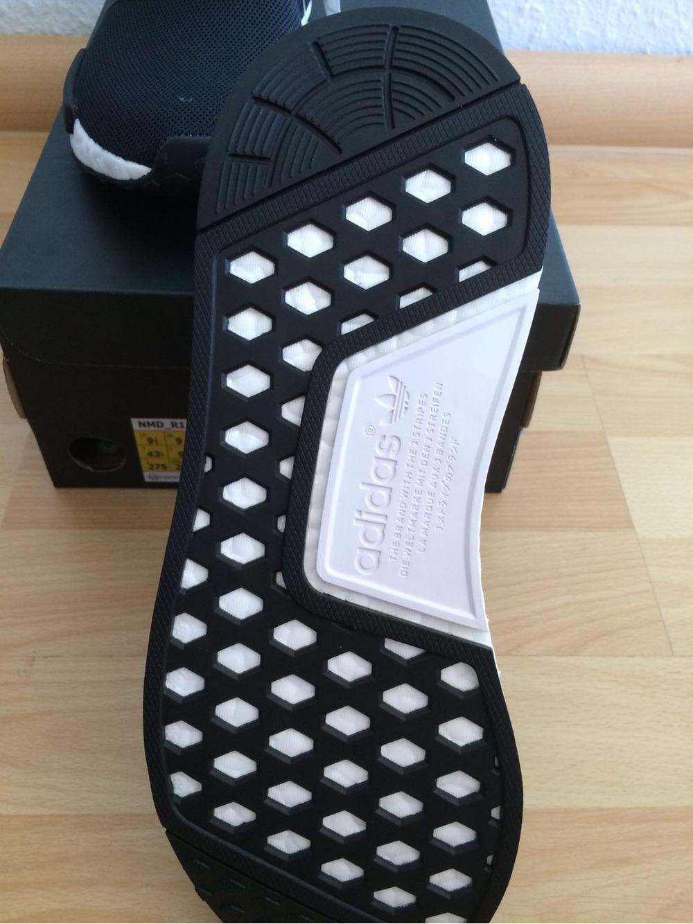 Adidas NMD R1 Tokyo Mesh Black White Blue S79162 UK6 8.5 EU39