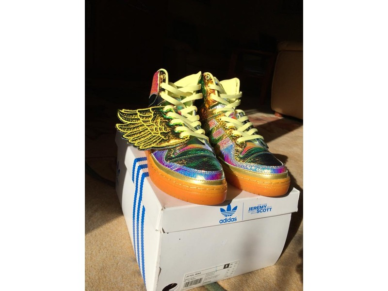 adidas js wings gold foil