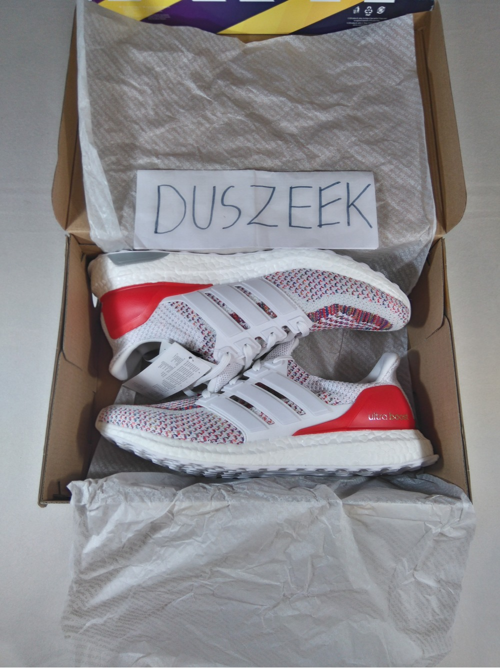 Adidas Ultra Boost Red Multi