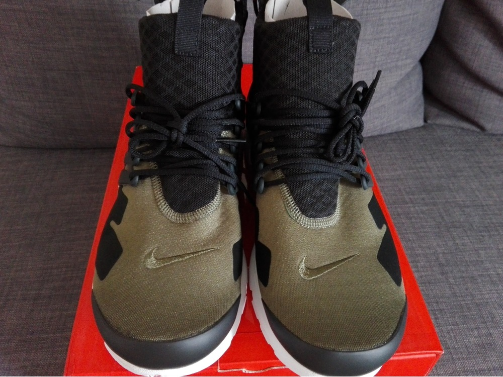 hot sale online 6a6f3 6d135 ... acronym x nike air presto mid med oliv size s us 9 10 Presto Sizing ...
