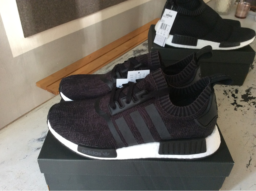 BAPE X ADIDAS NMD R1 A Bathing Ape Olive Green On Feet Review
