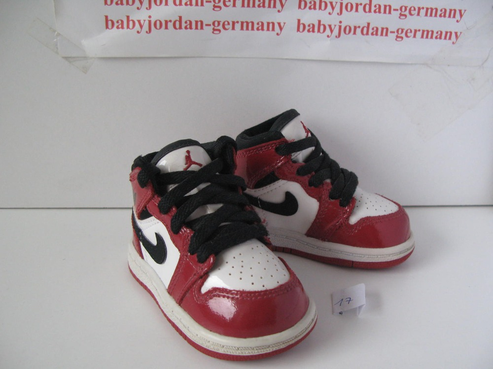 ... DS 2003 Nike Air Baby Jordan 1 Retro US 2c EUR 17, DS White Black