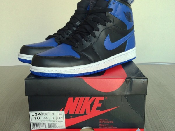 Nike Air Jordan Retro 1 Royal Blue AJI - photo 1/5