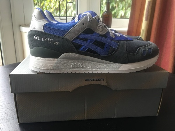 Asics GEL Lyte III x Sneakerfreaker Alvin Purple - photo 1/4