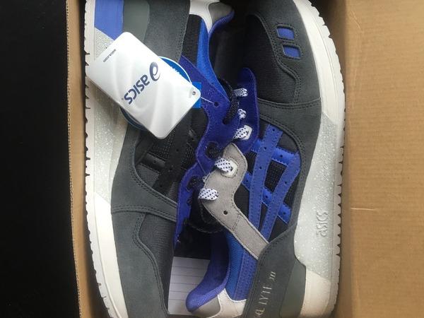 Asics GEL Lyte III x Sneakerfreaker Alvin Purple - photo 2/4