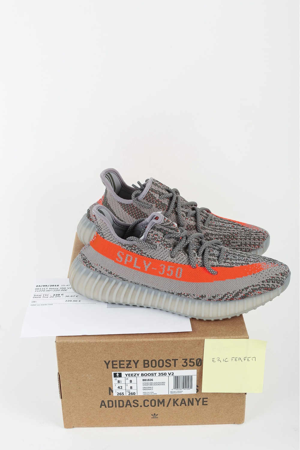Adidas Yeezy Boost 350 v2 BY 9612 Core Black Red From